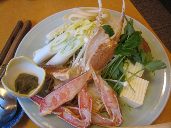 螃蟹鍋蟹肉又一拍