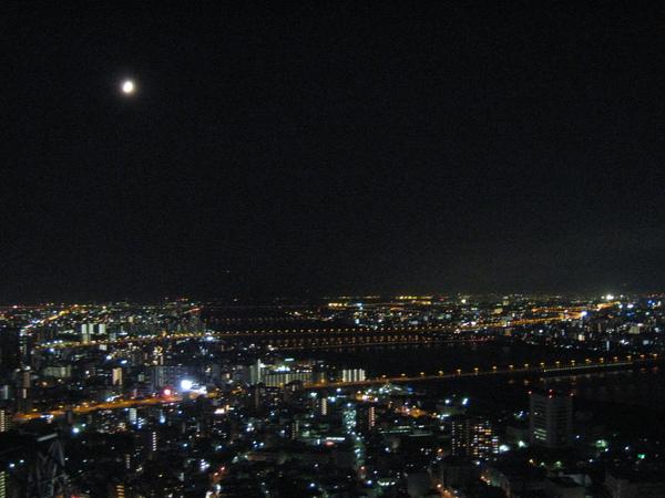 大阪空中展望庭園夜景