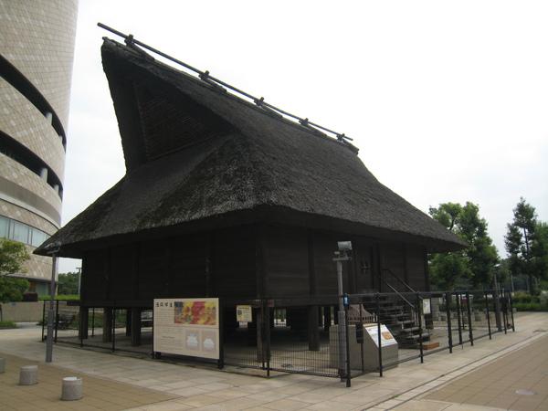 大阪歷史博物館前的古民居復原