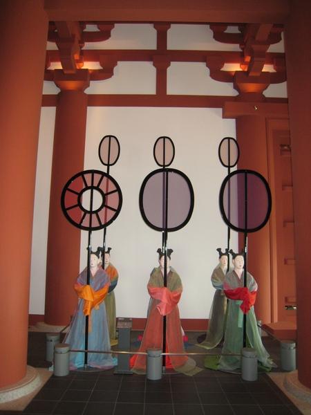 大阪歷史博物館─難波宮時代宮廷造景