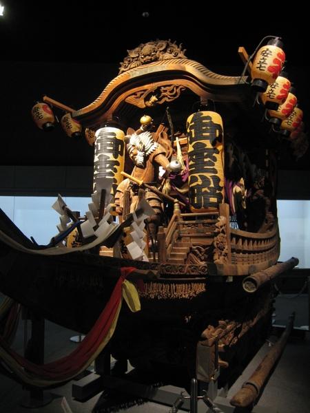 大阪祭典船轎