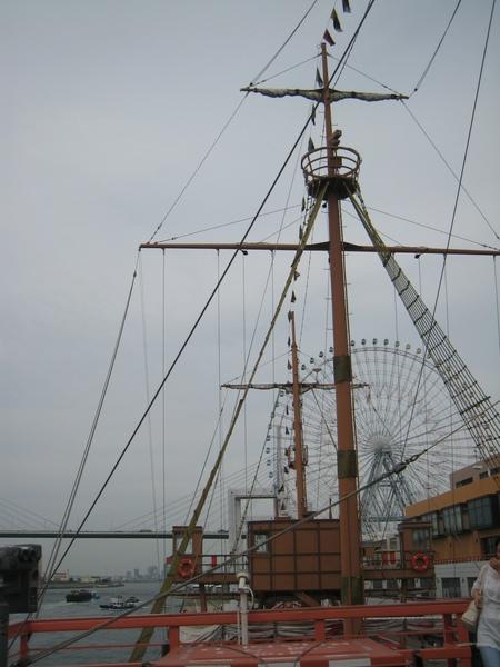 聖瑪莉雅號船桅