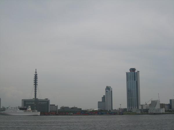 聖瑪利亞號的大阪港視野之二