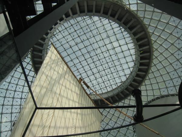 海上時空館天井