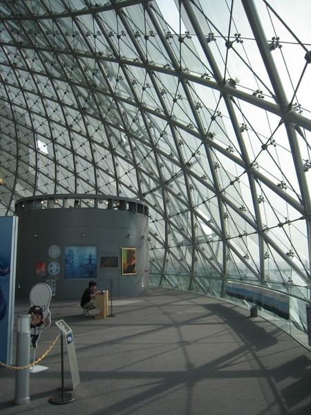 海上時空館一景─充滿開放感的景象