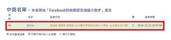 台中鱷魚廠拍得獎人