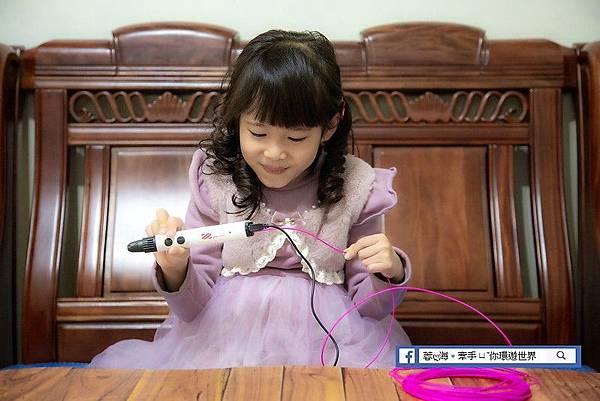 3D Pen Cool-兒童-3D立體筆直覺式設計,兩種出料模式設計,滿足各式設計需求