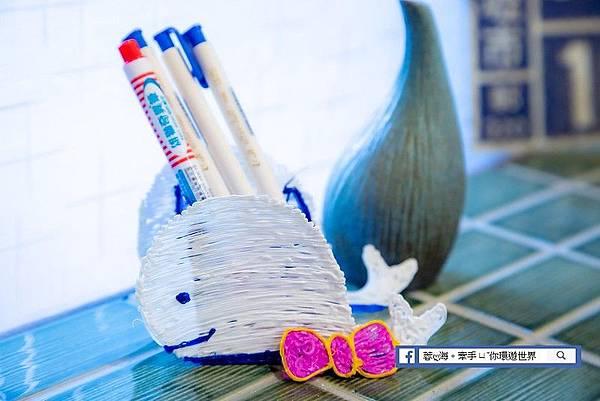 da Vinci 3D Pen Cool-3D立體魔法筆創作立體物件-鯨魚筆筒