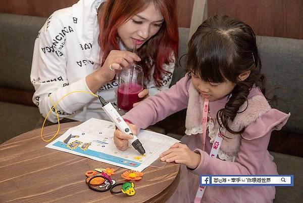 3D Pen Cool-兒童-3D立體魔法筆擁有低溫筆頭,是專為盒子設計的3D立體筆