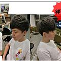 中性短髮 ! 紫灰色