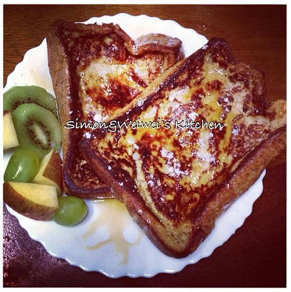 超完美全麥法式吐司 Whole-Wheat French Toast