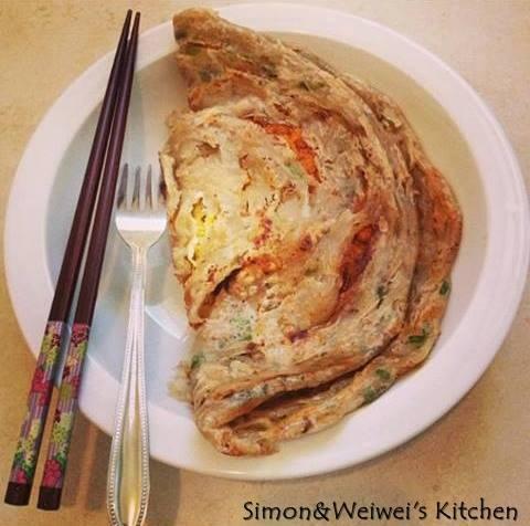 蔥抓餅 Chinese Pancake