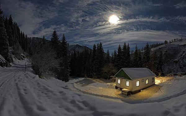 一個溫暖的家