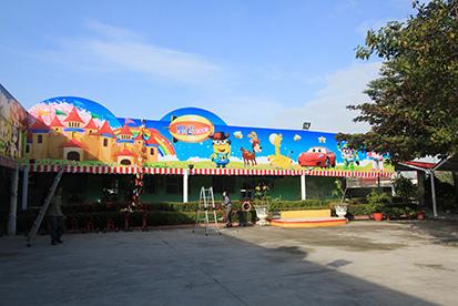 3校園大型帆布