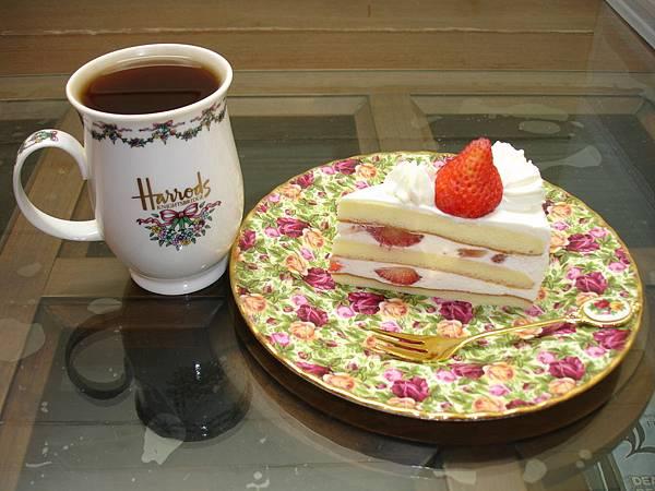 亞尼克.雪美莓蛋糕+Harrods.No.49綜合紅茶