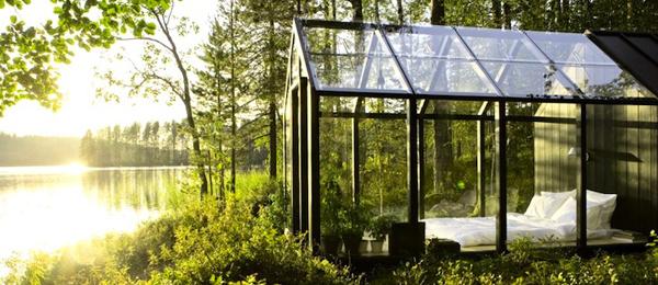 太陽能供電的浪漫花園