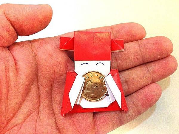 小財神摺紙-1