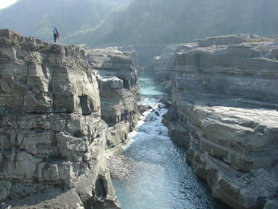大安溪峽谷