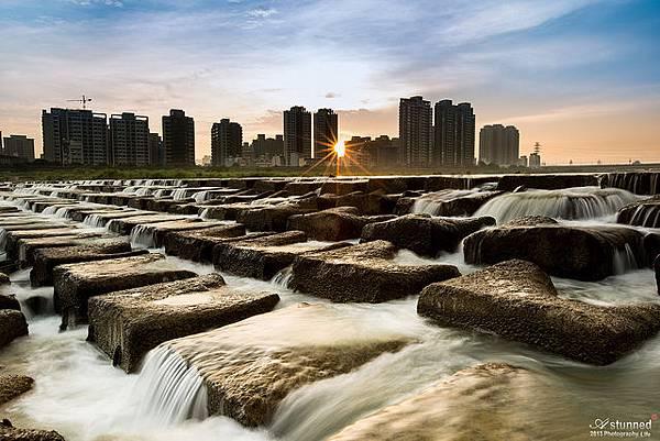 頭前溪豆腐岩