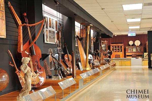 奇美博物館樂器館