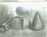 炭筆(球方錐柱