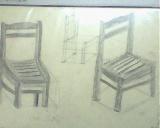 鉛筆(椅2