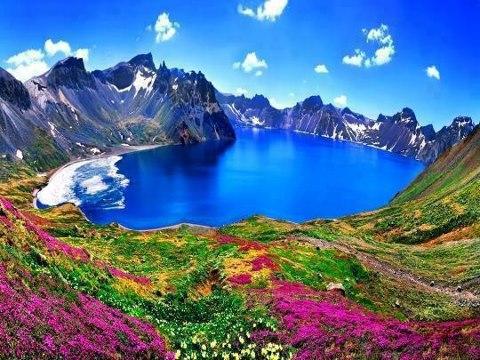 長白山風景