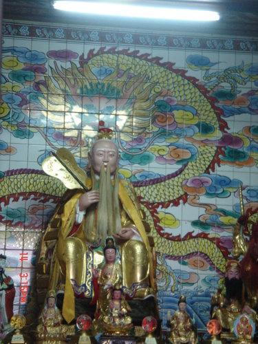 台北 天寶聖道宮 太上道祖 聖像