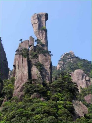 南清園景區是三清山自然景觀的精華