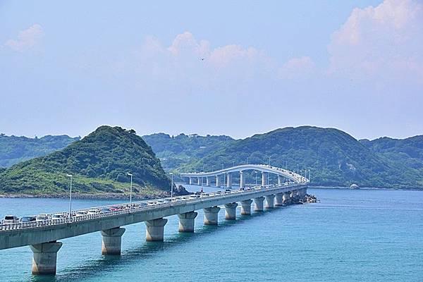 日本角島大橋 老男人拍攝-1