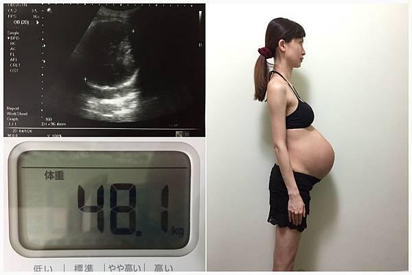 懷孕10個月,雖然大家嘴巴很甜都說沒胖, 但其實只是四肢瘦騙人啦, 好歹我也是努力吃用力補, 讓自己硬生生從39公斤到49公斤! 整整10公斤!!連醫生都警告胎兒過大不能多吃了