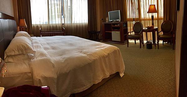 「雪山溫泉會館」雙人房大床