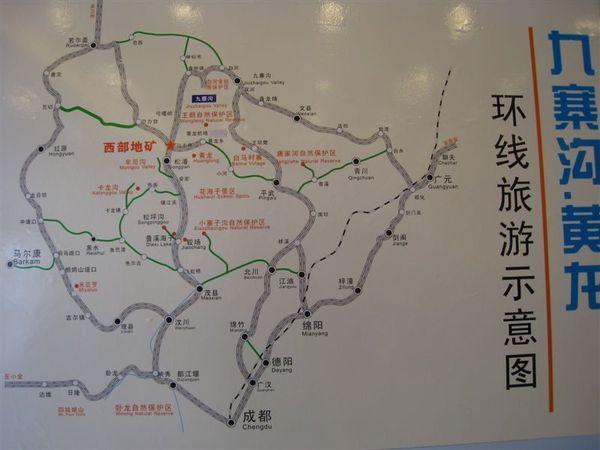 四川週遭地圖