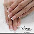 法式水晶指甲