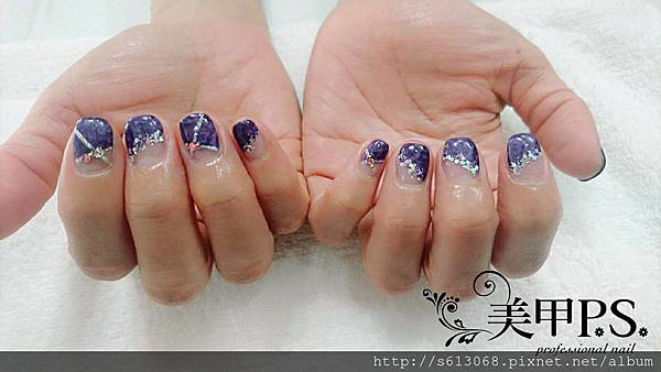 台中光療指甲教學