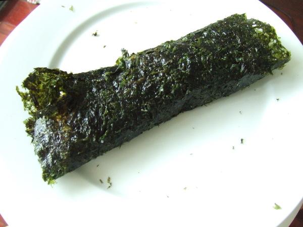 甜辣醬蔬菜蒟蒻麵海苔捲(造型)