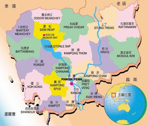 地圖 _柬普寨