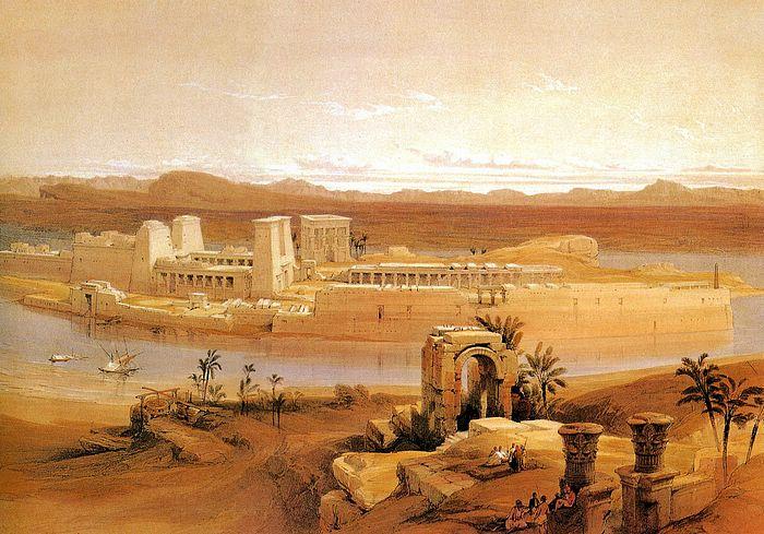 DavidRoberts-TempleOfPhilae_1838