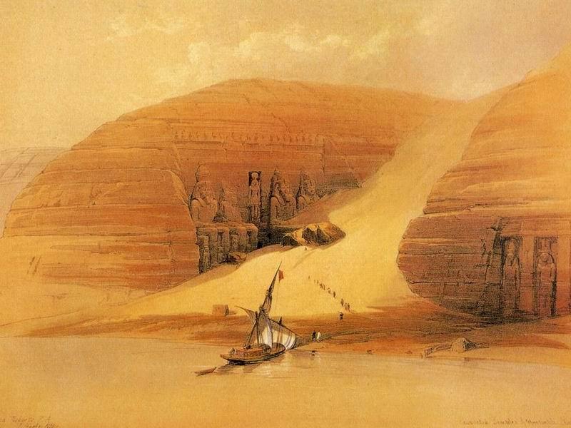 DavidRoberts-TempleOfAbu-Simbel_1838
