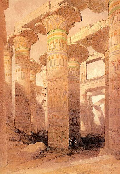 DavidRoberts-ColumnHallOfKarnak_1838