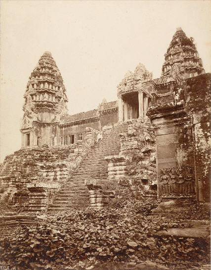 Angkor. Photographie d'Emile Gsell