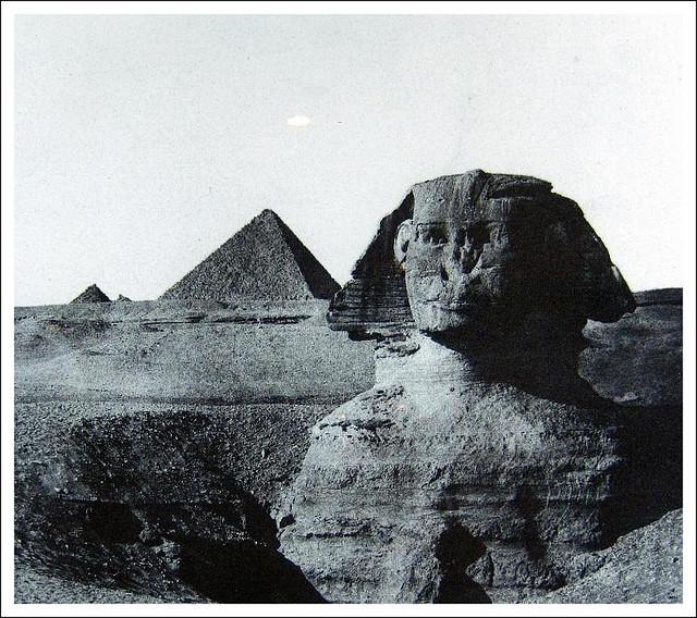 Égypte Moyenne. Le Sphinx, 1849