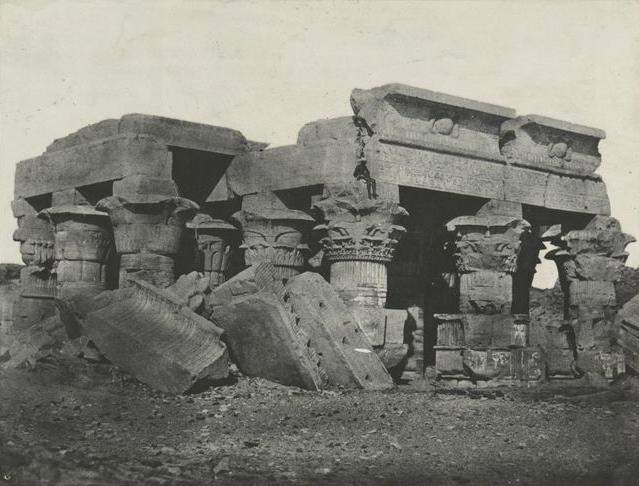 Haute Égypte. Temple d'Ombos, 1852