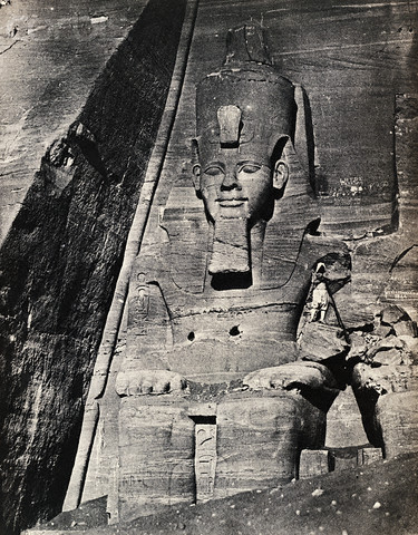 Great Temple of Abu Simbel, 1850