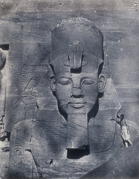 The Colossus of Abu-Simbel, 1850