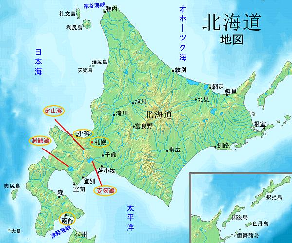 地圖_北海道