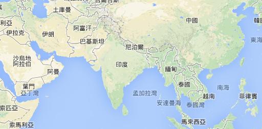 地圖_印度