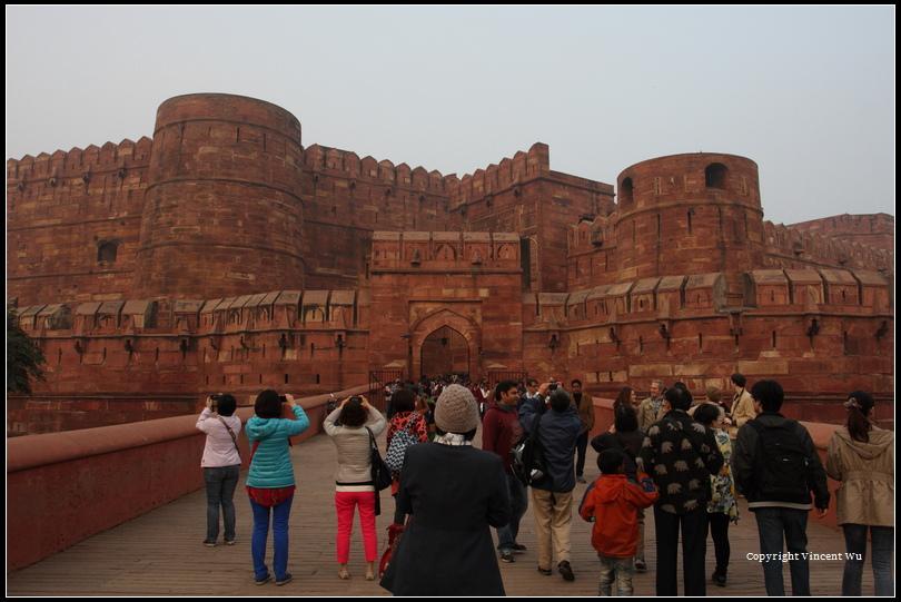 阿格拉紅堡(Agra Fort)01