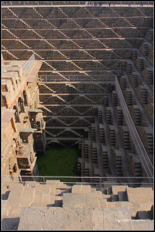夏恩.芭歐利地底宮殿(Chand Baori)05