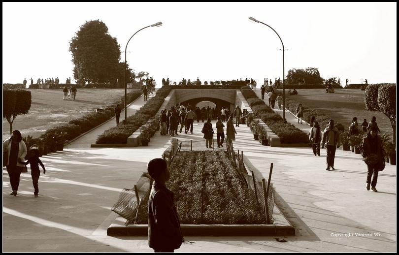 甘地火化紀念場(Raj Ghat)01